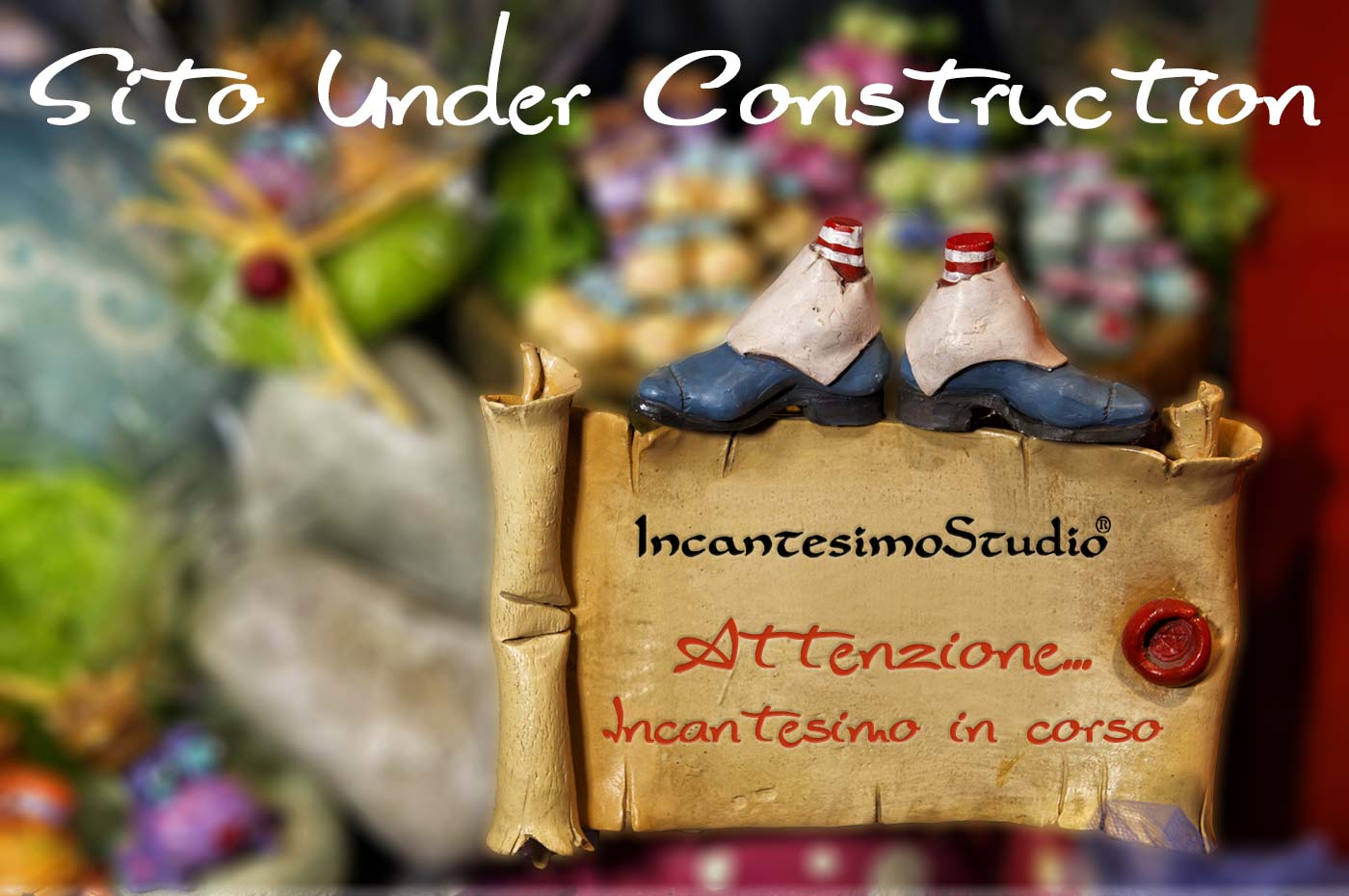 Under construction Incantesimo Studio
